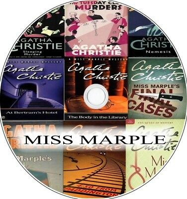 Agatha Christie - MISS MARPLE Audio Books Collection of MP3s on CD