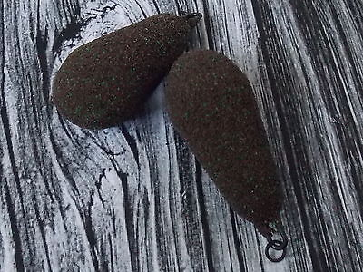 10 x 3oz CHOD HELICOPTER   CAMO BROWN TEXTURE COATED CARP/BARBEL LEADS NEW !!!