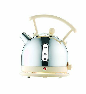 Dualit Dome Kettle 72702 - Chrome and Cream Finish