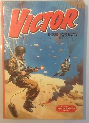 Victor Book for Boys 1982 Annual