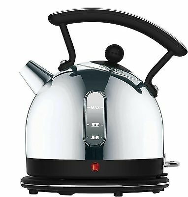 Dualit Dome Kettle 72702 - Chrome and Black Finish