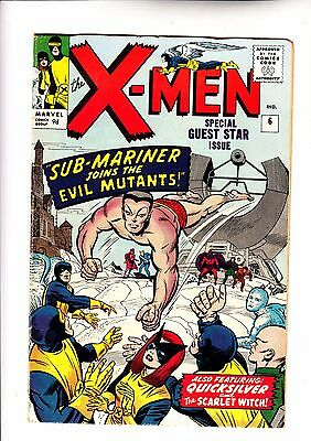 X-Men 6 vs Sub-Mariner