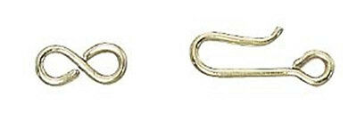 Gold Filled Hook and Eye Clasps (10 complete sets)
