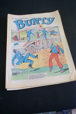 BUNTY Comic For Girls . Ideal Birthday Gift. No. 1114. May 19 1979