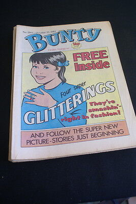 BUNTY Comic For Girls . Ideal Birthday Gift. No. 1345. October 22 1983