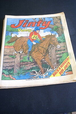 JINTY & Penny  Comic For Girls. Ideal Birthday Gift. 11th october 1980