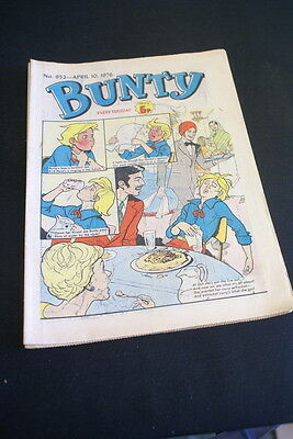 BUNTY Comic For Girls No. 952 April 10 1976