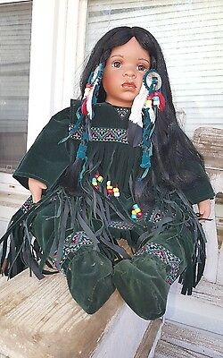 Native American Indian Girl Doll Timeless Collection Limited Edition 1346/2500