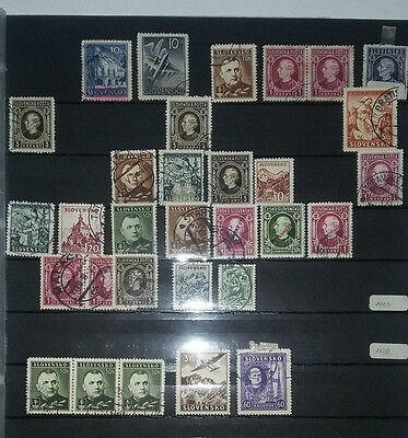 Lot Briefmarken  Stamps Slowakei Slovensko bis 1945?