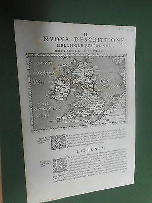 100% Original England And Wales  Map By Meik C1598 Scarce Vgc Low Postage