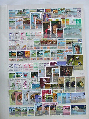 Jersey Mm/mnh 1969-93 Collection Of Sets & Mini Sheets, Face Value Approx £140