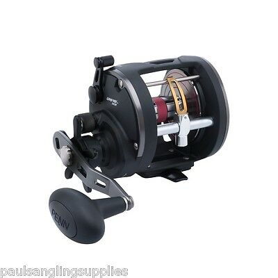 Penn Warfare level Wind 20 Multiplier Sea Fishing Reel Trolling Reel New
