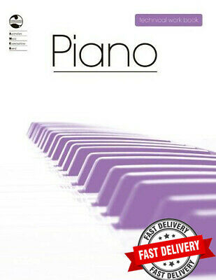 AMEB Piano Technical Workbook. Current edition 2008  **BRAND NEW**
