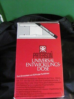 Vintage-Paterson Universal Developing Tank-New In Box