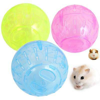 Mini Ball For Pet Toy Hamster Gerbil  Mice Jogging Exerciese Palying Plastic