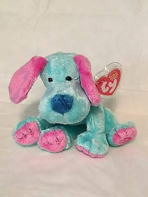 TY Beanie Baby - KOOKIE the Dog - Pristine with Mint Tags - RETIRED