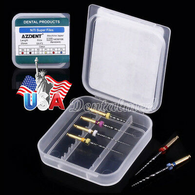 US 1 Box Dental Endodontic Engine Use NiTi Super Rotary File SX-F3 25mm 6pcs/box