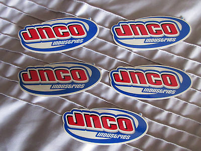RARE Vintage JNCO Jeans Industries Sticker Decal lot Authentic Raver Skater