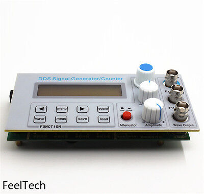 DDS Function Signal Generator FeelTech Many Waveforms Frequency Counter 2-10Mhz