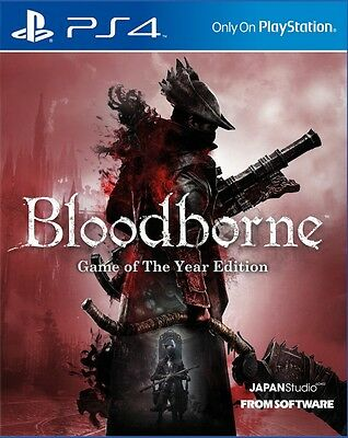 Bloodborne - Game Of The Year Edition PS4 Neu & OVP