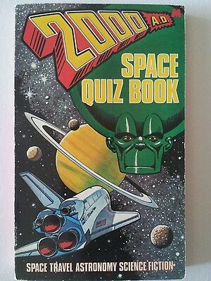 2000AD space quiz book 1980