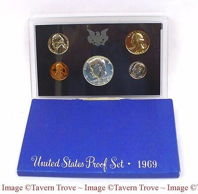 1969 United States Mint Proof Set