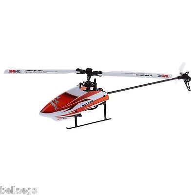 XK K110 6CH RC 3D Aerobatic Flybarless Helicopter RTF Brushless Radio Control