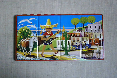 WATER COLOURS PAINT SET (2) NIB LITHO TIN BOX MADE IN GERMANY licolette Vintage