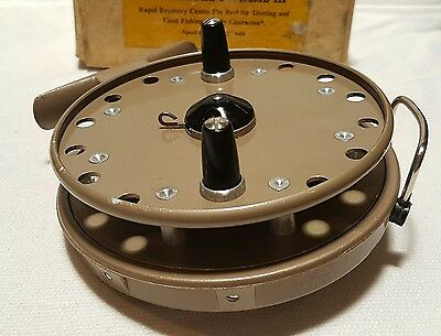 GRICE & YOUNG 4 3/8 AVON ROYAL SUPREME 111 Blackfish Luderick Centrepin Reel