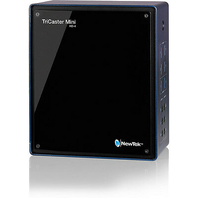 NewTek TriCaster Mini HD-4 (FG-000874-R001) - Multimedia Production Studio NWOB