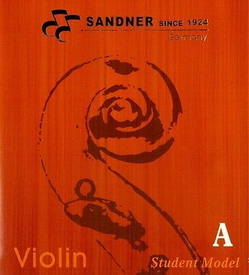 German Sandner Violin A String Steel Core For 3/4 and 4/4 Size