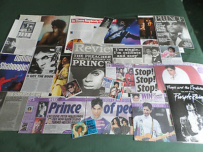 Prince - Rock Music - Clippings /cutting Pack