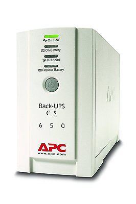 NEW APC Back-UPS BK 650 Uninterruptible Power Supply 650VA BK650EI 4 Outlets IEC