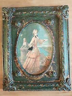 Vintage Antique Beautiful Frame with Picture