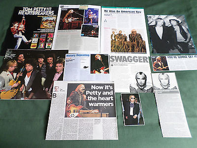Tom Petty - Rock Music - Clippings /cutting Pack