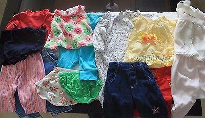 Lot of 16 Pcs Baby-Girl  3-6-9 Months .
