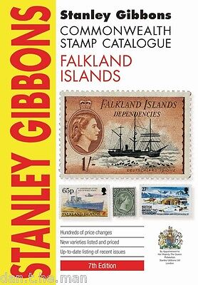 STANLEY GIBBONS COMMONWEALTH STAMP CATALOGUE - FALKLAND ISLANDS - 7th EDITION