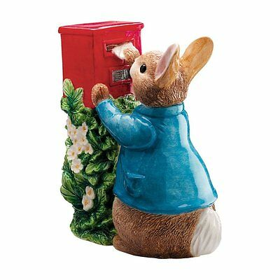 Beatrix Potter Peter Posting Letter Money Box