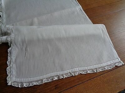 "Layover  Pillow Cover   LIGHT WEIGHT COTTON LACE TRIM 75"" LONG"