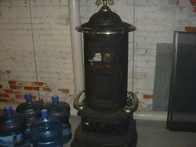 Antique Cast Iron Parlor Stove Crawford #2