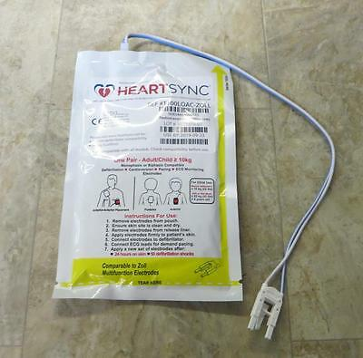 NEW Zoll HeartSync T100 Adult / Child Multifunction Electrode Pads M E R Series