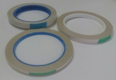 4mm, 6mm, 9mm and 12mm clear double sided tape adhesive 25m length Stix 2