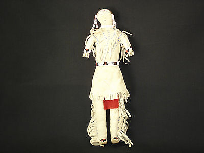 A Southern Plains Native American Indian Ghost Dance Doll, Circa:1885