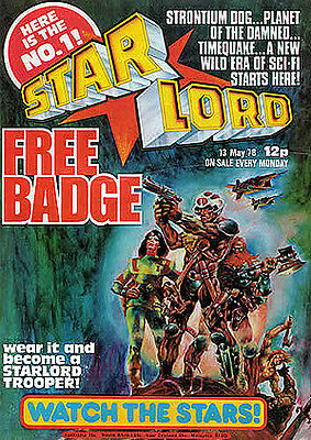 Starlord Comic Complete Digital Collection Annuals Summer Special + Bonus
