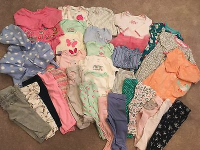 Baby Girl Clothes 9M HUGE LOT Carter's Spring 9 Months (32 pcs)