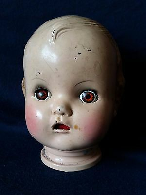 Vintage Horsman Composition Doll Head and Composition Doll