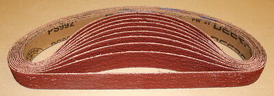 "1"" x 30""  Ceramic Sanding Belts 36 Grit - 10 Belts"