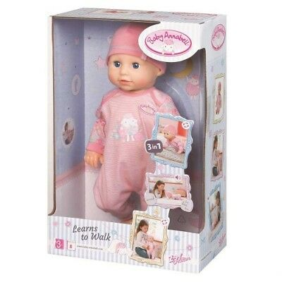 New Zapf Creations Baby Annabell Learns To Walk Doll - 793411