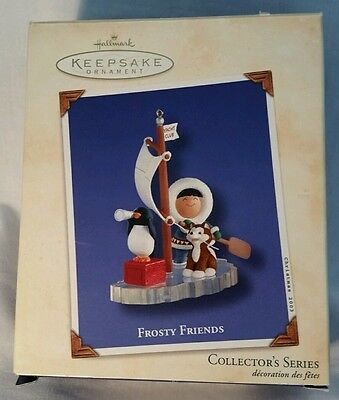 Hallmark Frosty Friends Collector's Series Ornament,  # 24 in Series, 2003