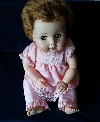 """1950's Vintage 20"""" American Character Multi-Joint Toodles Baby Doll"""